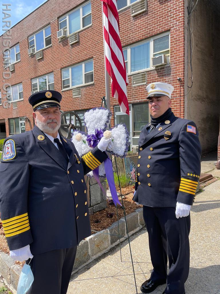 Ex-Chief Mark Scocchera and Chief Mohr RIP Ex-Chief Arcuri