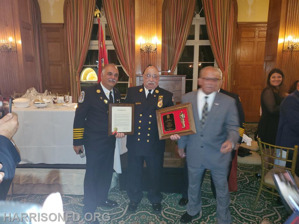 Chief Ralph Straface, Ex-Cheif Joe Mazzullo, Councilman Richard Dionisio